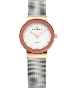 Skagen Freja Steel Mesh Watch 358SRSC