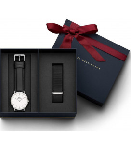 Daniel Wellington Classic Sheffield 40mm + Cornwall ремешок