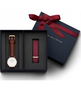 Daniel Wellington Classic St Mawes 36mm + Roselyn ремешок